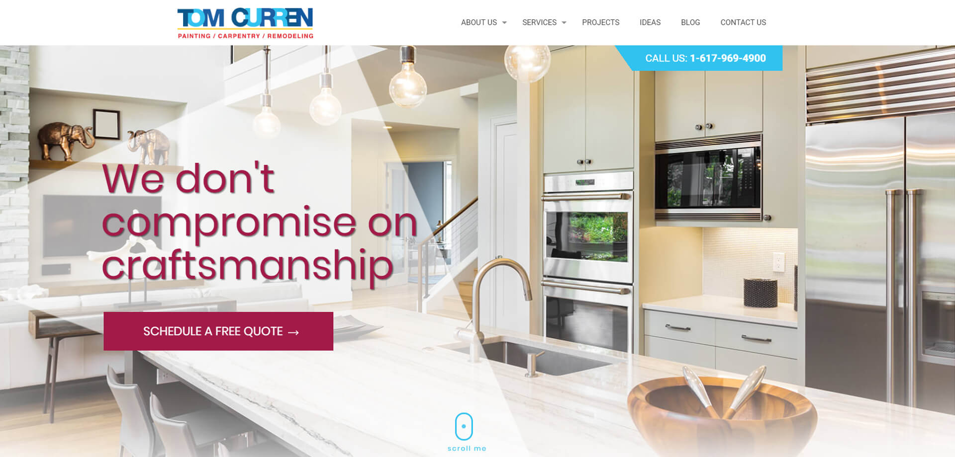 High-end property remodelling and refurbishing website