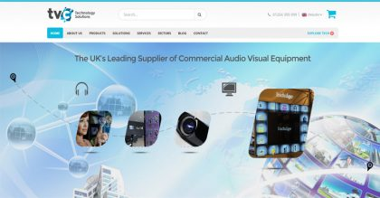 Hi-tech electronics retail website