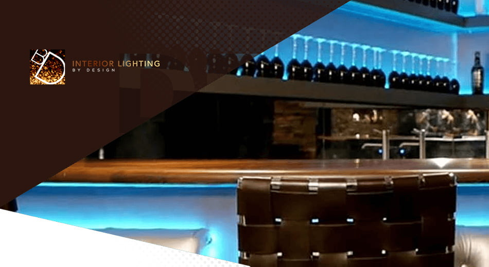 Website for interior lighting design and consultancy company